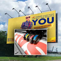 Hoardings printing services