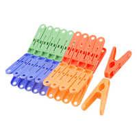 Plastic cloth clips