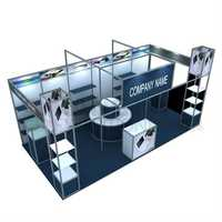 Modular exhibition stall services