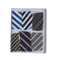 Polyester tie fabric