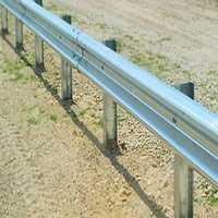 Metal guard rail
