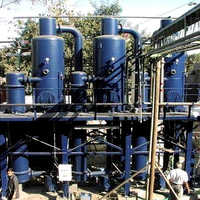 Solvent recovery plants