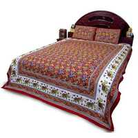 Woolen bed cover