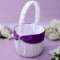 Wedding flower basket