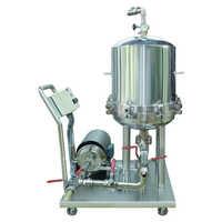 Liquid filter press