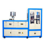 Plastic cap making machine