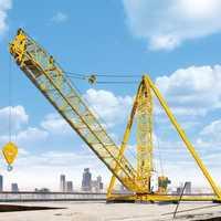 Rail Mounted Tower Crane