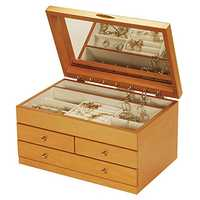 Wooden Jewelry Case