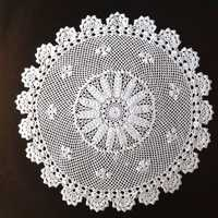 Hand made crochet lace