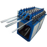 Punching roll forming machine