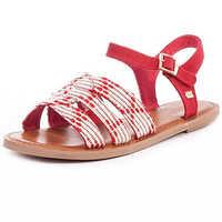 Stitch Down Sandal