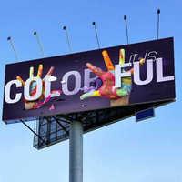 Outdoor banner advertising