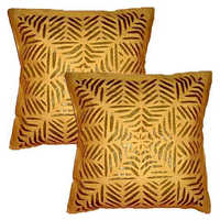 Cutwork cushion covers