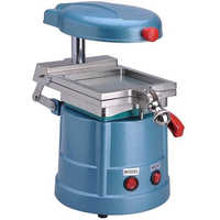 Vacuum moulding presses