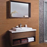 Wooden Bathroom Cabinet