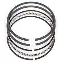 Ring belt piston