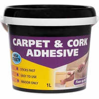 Carpet adhesives