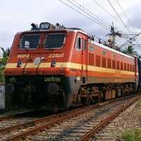 Railway advertising