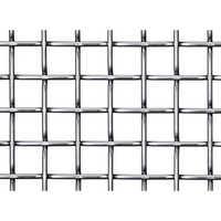 Galvanized square mesh
