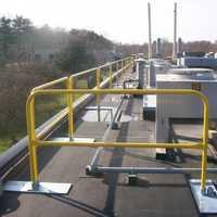 Steel guardrail
