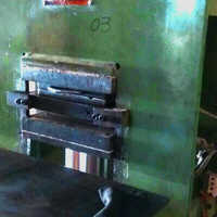 Tread rubber machine