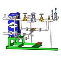 Centralized hot water system