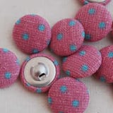 Fabric covered buttons