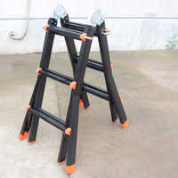 Frp telescopic ladder
