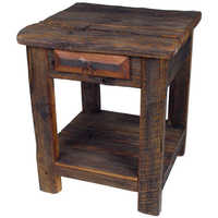 Wooden End Table