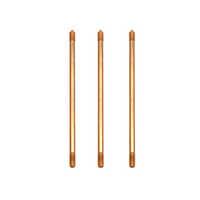 Copper ground rods