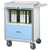 Patient record trolley