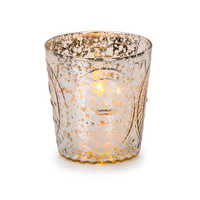 Embossed Candle Holder