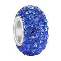 Sapphire beads