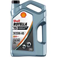 Shell automotive oil