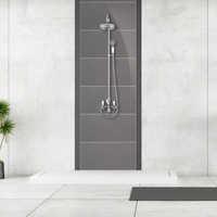 Acrylic shower panel