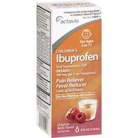 Ibuprofen suspension