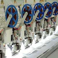 Cording embroidery machine