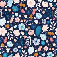 Print Patchwork Fabric
