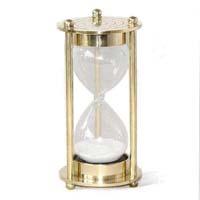Metal sand timer
