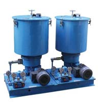 Dual line lubrication system