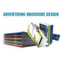 Advertising brochure design