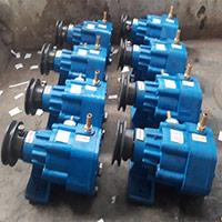 Milking machine vacuum pump