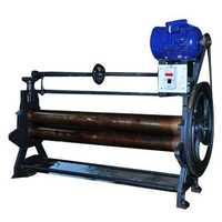 Rubber sheeting machine