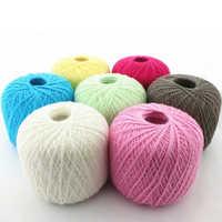 Pure cotton yarn
