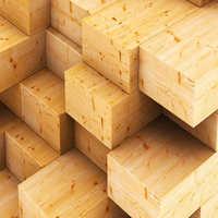 Teak sawn timber