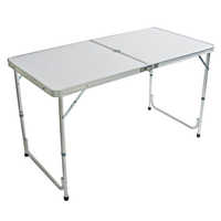 Aluminium folding tables