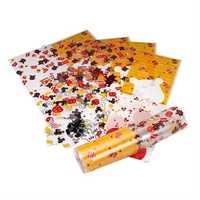Printed plastic sheets