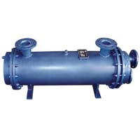 Horizontal heat exchanger