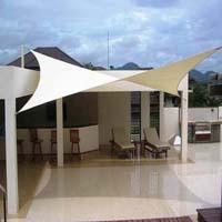 Tensile awning