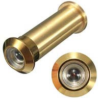 Brass door viewer